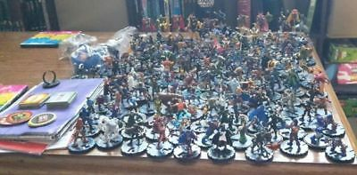 Lot 20 Marvel Common Uncommon Heroclix with Cards Grab Bag -No Duplicates- New