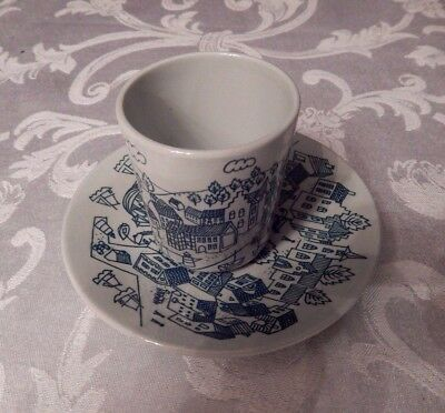 Tea Cup & Saucer  Nymolle Art Faience HOYRUP Denmark Limited Edition of 4006