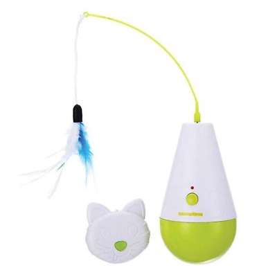 Culbuto Feather Cat Kitty Kitten Fun Toy | All For Paws Interactive Toys