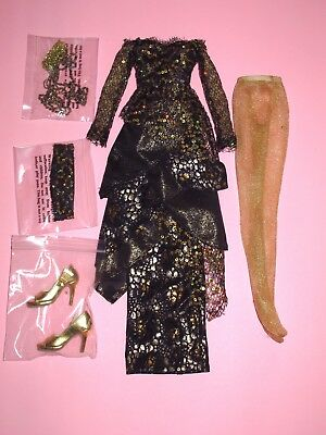 "Tonner Wilde - Golden Gothess 18"" Evangeline Ghastly Fashion Doll OUTFIT"