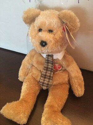 New Ty Retired Beanie Babies Internet Exclusive Dad-E 2003 The Fathers Day Bear