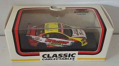 1:64 Classic Carlectables Russell Ingall 2009 Supercheap Auto VE Commodore #39