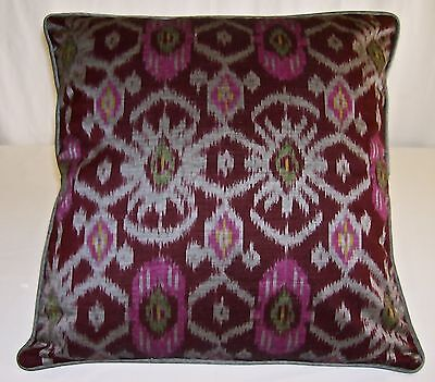 IKAT COTTON CUSHION COVER    Size 40 cm x 40 cm   Free Postage