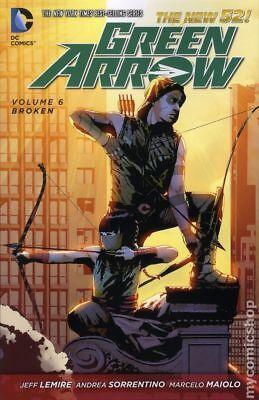 Green Arrow TPB (2012-2016 DC Comics The New 52) #6-1ST FN STOCK IMAGE