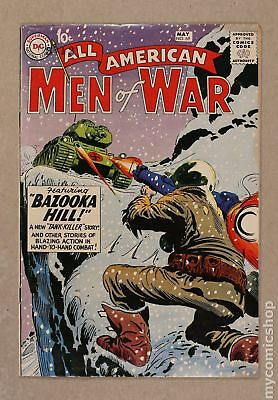 All American Men of War (1952) #69 FN- 5.5