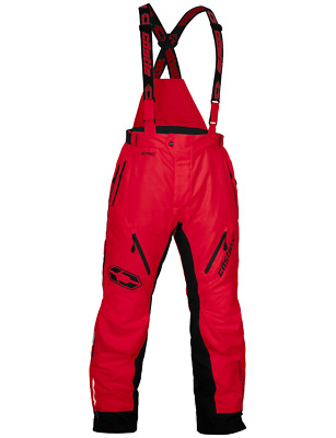 Castle Back Country Epic Waterproof Snowmobile Winter Sports Snow Board Pant Red
