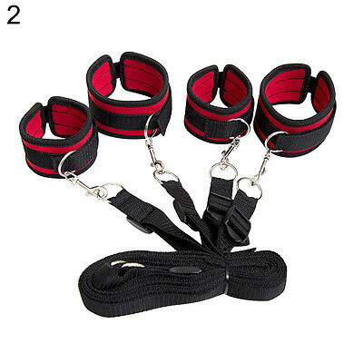HH- Bondage Bed Foot Shackle Handcuffs Adult Games Sex Tool Role Play Toy Eager