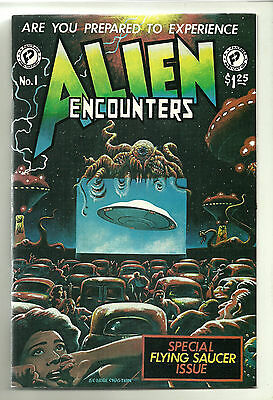 Alien Encounters #1 (Jan 1981, FantaCo Enterprises) Comic 1st Printing Unread!