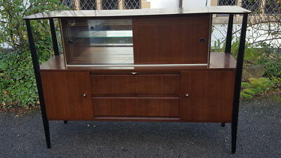 A Stunning Retro Mid Century Beautility Sideboard/Cocktail Cabinet/Buffet 1960's