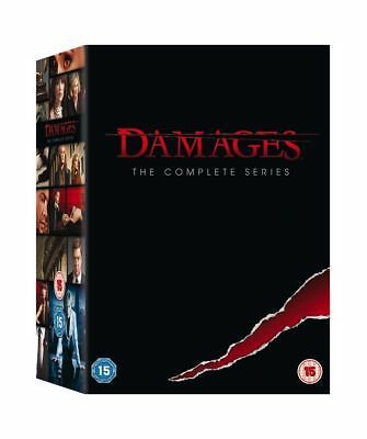 Damages - Serie Tv - La Serie Completa - Stagioni 1-5 - Cofanetto Con 15 Dvd