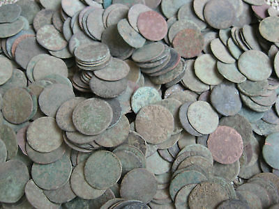 50 UNCLEANED  COINS 17TH.CENTURY 1600s