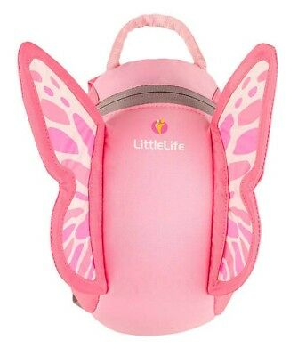 LITTLE LIFE Toddler Day Sack - Pink Butterfly