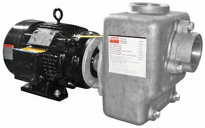 "Dayton 3HP Stainless Steel Centrifugal Pump, 3"" NPT Inlet, 3"" NPT Outlet -"
