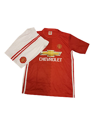 Pogba football shirt Manchester United 2016-2017 home for kids