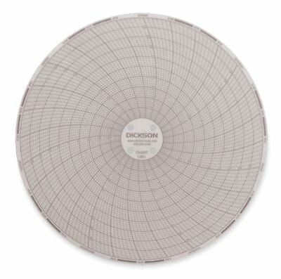 Dickson Circular Chart, 6 In, -50 to 50,7 Day, PK60 - C651
