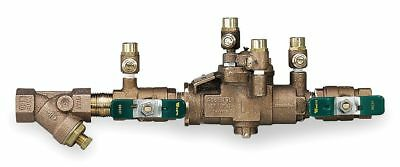 Watts Reduced Pressure Zone Backflow Preventer, Bronze, Watts 009 Series, NPT