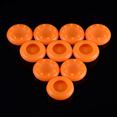 5 Pairs Orange Thumbsticks Grip Covers For Xbox 360 Xbox One PS3 PS4 Controller