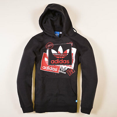 adidas herren hoodie kapuzenpullover gr s wie m skateboarding schwarz 25844 eur 32 90. Black Bedroom Furniture Sets. Home Design Ideas