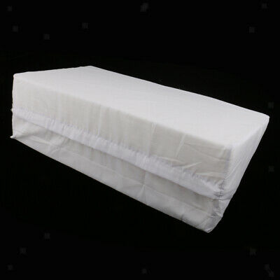 Foam Bed Wedge Pillow Back Leg Elevation Cushion Washable Removable Cover