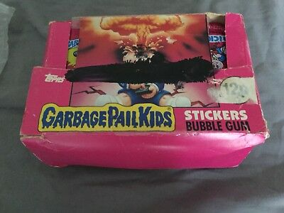 Garbage Pail Kids UK Series 1 (1985) Empty Box - Vintage - Topps - RARE