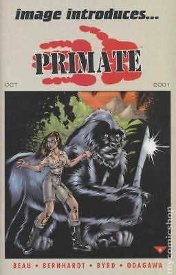 Image Introduces Primate (2001) #1B VF STOCK IMAGE