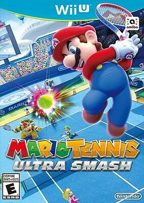 Nintendo Wii U Mario Tennis Ultra Smash NEW Sealed for N&S America USA game