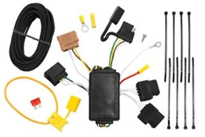 Trailer Hitch Wiring Tow Harness For Ford Fiesta 4 Dr Sedan 2011 2012 2013 2014