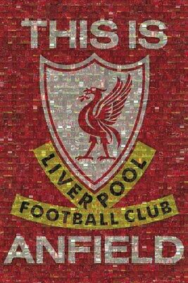 Liverpool FC This Is Anfield Photomosaic Maxi Poster 61 x 91,5 cm