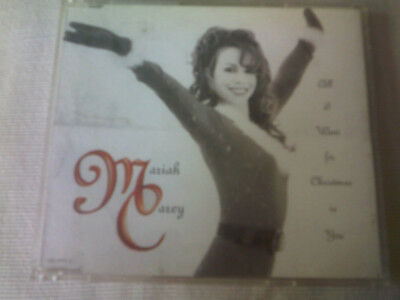 Mariah Carey - All I Want For Christmas Is You - Uk Cd Single