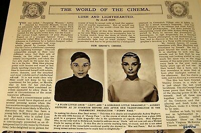 Audrey Hepburn 1957 Funny Face Movie Review & Pictorial