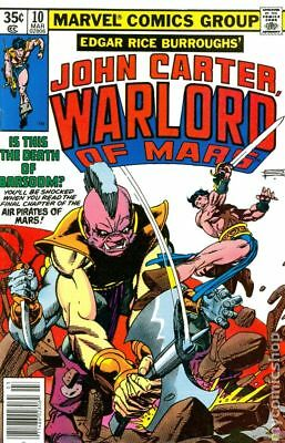 John Carter Warlord of Mars (1977 Marvel) #10 FN STOCK IMAGE
