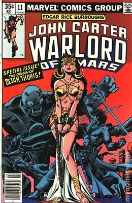 John Carter Warlord of Mars (1977 Marvel) #11 FN+ 6.5 STOCK IMAGE