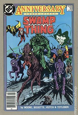 Swamp Thing (1982 2nd Series) #50 FN 6.0