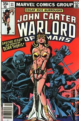John Carter Warlord of Mars (1977 Marvel) #11 FN STOCK IMAGE
