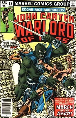 John Carter Warlord of Mars (1977 Marvel) #13 FN STOCK IMAGE
