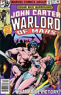 John Carter Warlord of Mars (1977 Marvel) #17 FN 6.0 STOCK IMAGE