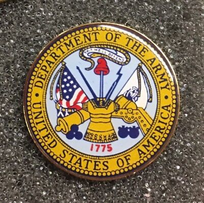 Department Of The Army Usa Lapel Pin Us Military Made In America