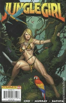 Jungle Girl (2007 Dynamite Entertainment) #1A VF STOCK IMAGE