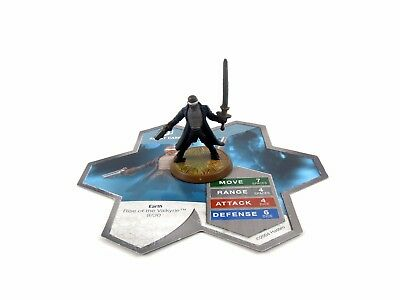 Agent Carr ~ Heroscape Rise of the Valkyrie Figure w/ Card Milton Bradley Game