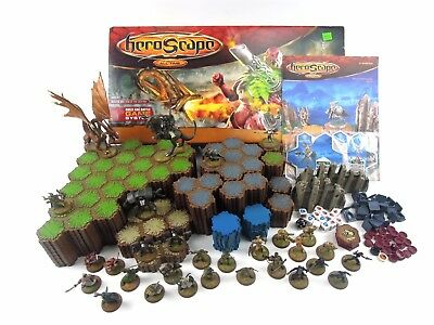 HeroScape Master Set Rise of the Valkyrie COMPLETE IN BOX w/ Figures, Land