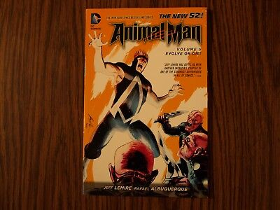 DC New 52 TPB Graphic Novel Animal Man: Evolve Or Die Vol. 5