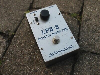 1976 ELECTRO HARMONIX LPB-2 Linear Power Booster Rare Vintage Big Muff Pedal