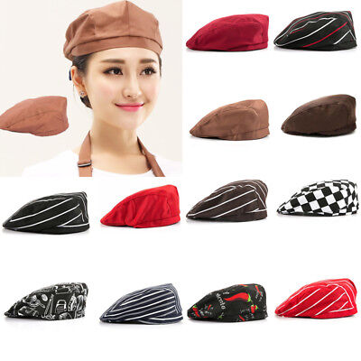 Food Service Restaurant Cooking Hat Hotel Kitchen Chef Cap Cook Catering Berets