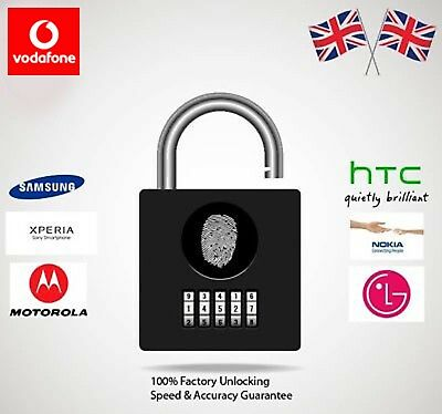 Vodafone Network Unlocking All Android Smart Phones,Samsung,Sony,HTC,etc