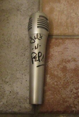 SALT N PEPA Signed MICROPHONE cheryl james sandra denton push it