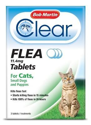 Bob Martin - Clear Flea Tablets for Cats & Small Dogs x Size: 3 Tablets