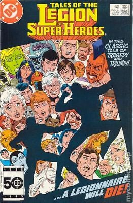 Legion of Super-Heroes (1980 2nd Series) #329 VF STOCK IMAGE