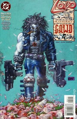 Lobo A Contract on Gawd (1994) #2 VG STOCK IMAGE LOW GRADE