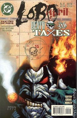 Lobo Death and Taxes (1996) #2 VG STOCK IMAGE LOW GRADE