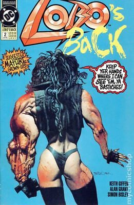 Lobos Back (1992) #2 FN STOCK IMAGE
